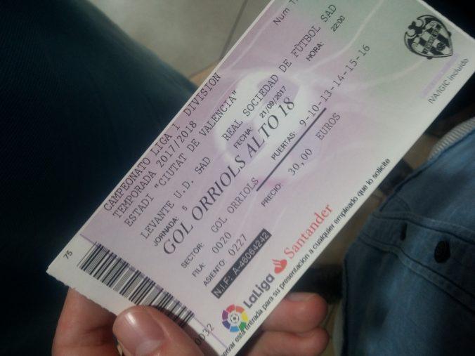 Levante tickets