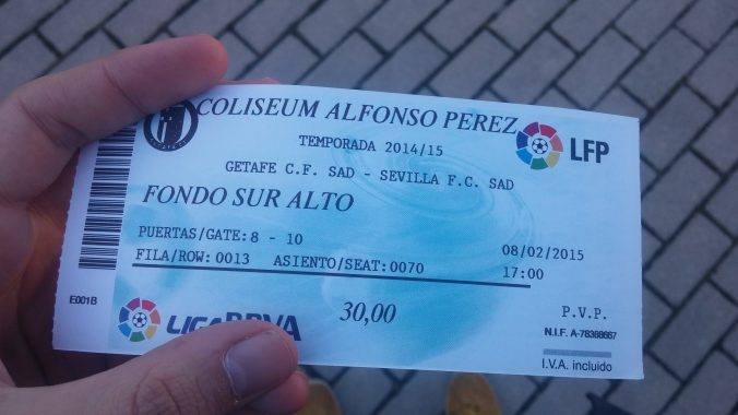 Getafe tickets