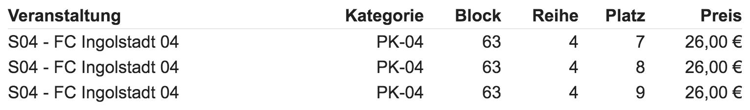 Schalke 04 tickets kopen