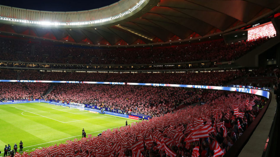 atletico madrid kaarten