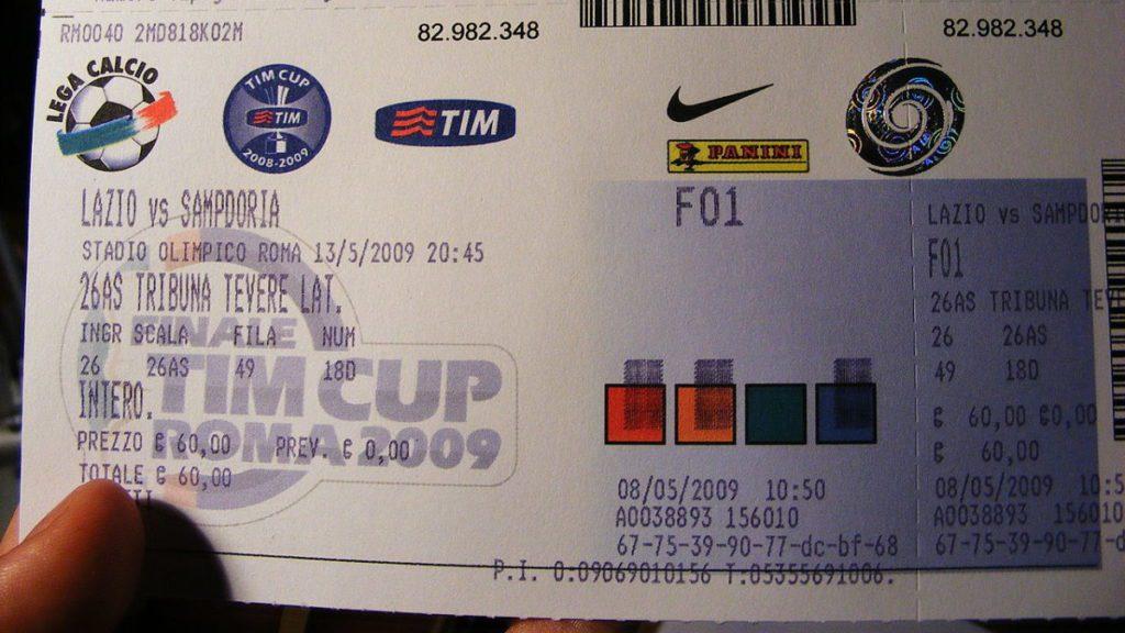 lazio roma tickets